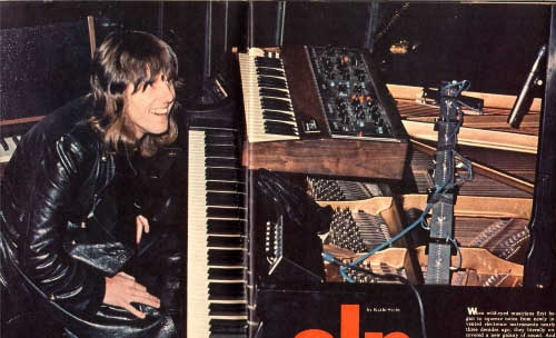 Keith at Piano/MiniMoog
